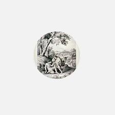 The good samaritan - 1849 Mini Button