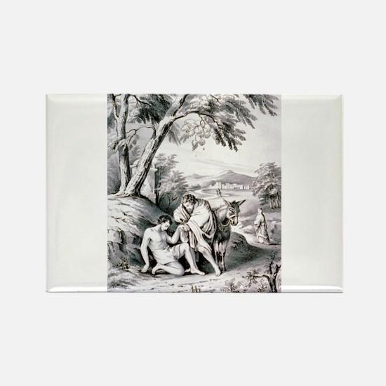 The good samaritan - 1849 Magnets