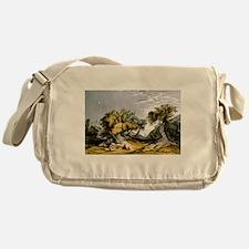 The garden of Gethsemane - 1846 Messenger Bag