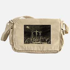 The Crucifixion - 1849 Messenger Bag