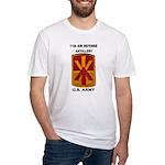 11TH AIR DEFENSE ARTILLERY BRIGADE Fitted T-Shirt