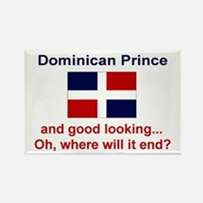 Good Looking Dominican Prince Rectangle Magnet