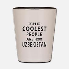 The Coolest Uzbekistan Design Shot Glass