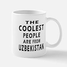 The Coolest Uzbekistan Design Mug