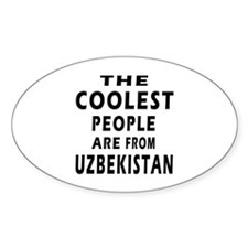 The Coolest Uzbekistan Design Decal