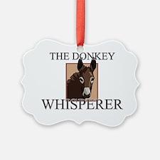 DONKEY140295 Ornament
