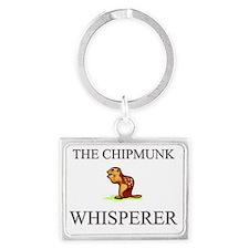 CHIPMUNK1333 Landscape Keychain
