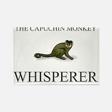 CAPUCHIN-MONKEY127348 Rectangle Magnet