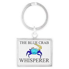 BLUE-CRAB38370 Landscape Keychain
