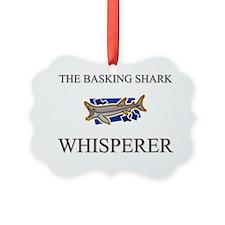 BASKING-SHARK1152 Ornament
