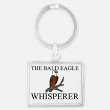 BALD-EAGLE1169 Landscape Keychain