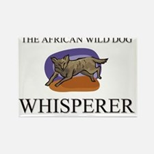 AFRICAN-WILD-DOG2733 Rectangle Magnet