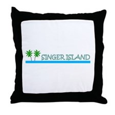 Singer Island, Florida Throw Pillow
