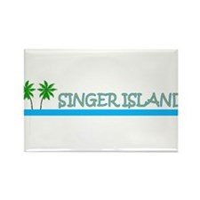 Singer Island, Florida Rectangle Magnet