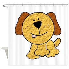 Three Legged Dog Shower Curtain