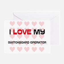 SWITCHBOARD-OPERATOR58 Greeting Card