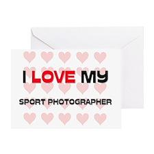 SPORT-PHOTOGRAPHER54 Greeting Card