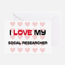 SOCIAL-RESEARCHER59 Greeting Card