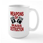 Bible Quran WMD Mug (15oz Cup)
