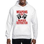 Bible Quran WMD Sweatshirt (Hood)
