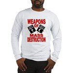 Bible Quran WMD Shirt (Grey LS) M