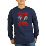 Bible Quran WMD Shirt (Blue LS) M