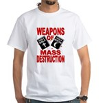 Bible Quran WMD T-Shirt (White) M