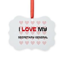 SECRETARY-GENERAL96 Picture Ornament
