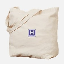 'H' for homebirth Tote Bag
