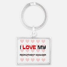 RECRUITMENT-MANAGER131 Landscape Keychain