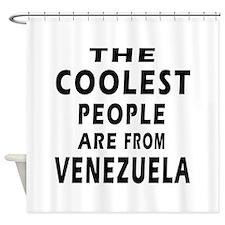 The Coolest Venezuela Design Shower Curtain