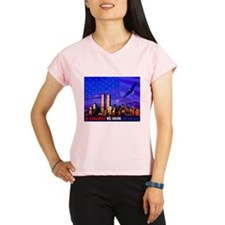 9 11 Memorial Never Forget Performance Dry T-Shirt