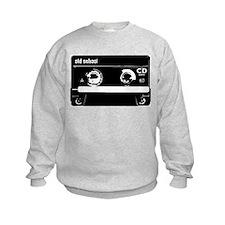 Old School Cassette Tape Sweatshirt