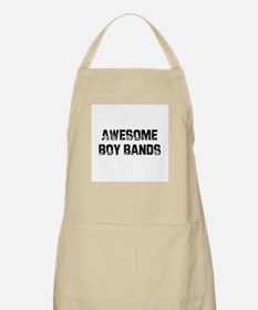 Awesome Boy Bands BBQ Apron
