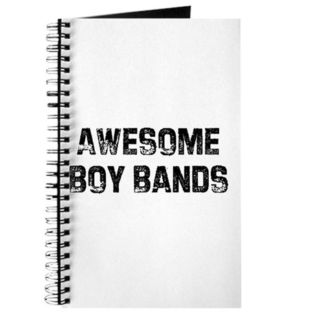 Awesome Boy Bands Journal
