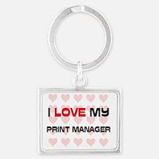PRINT-MANAGER30 Landscape Keychain