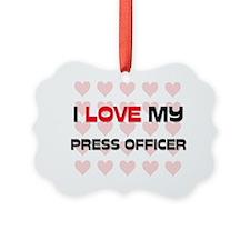 PRESS-OFFICER145 Ornament