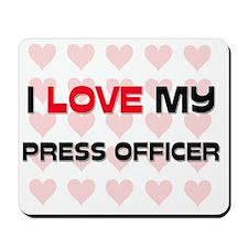PRESS-OFFICER145 Mousepad