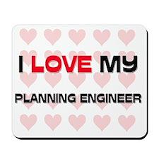 PLANNING-ENGINEER71 Mousepad