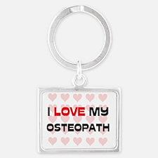 OSTEOPATH72 Landscape Keychain