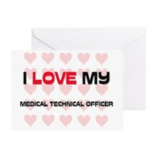 MEDICAL-TECHNICAL-OF41 Greeting Card