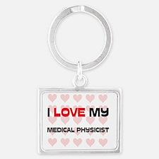 MEDICAL-PHYSICIST38 Landscape Keychain