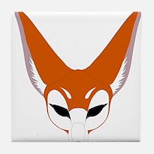 Red Fox Tile Coaster