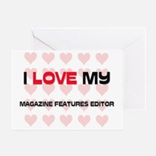 MAGAZINE-FEATURES-ED78 Greeting Card