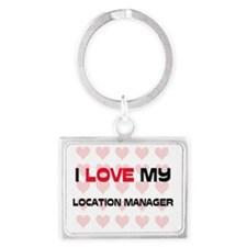 LOCATION-MANAGER96 Landscape Keychain