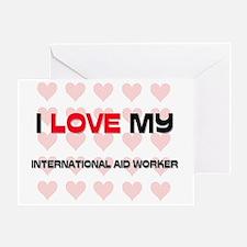 INTERNATIONAL-AID-WO3 Greeting Card