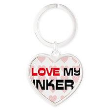 INKER108 Heart Keychain