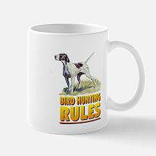 BIRD HUNTING RULES Mug