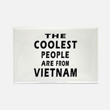 The Coolest Vietnam Design Rectangle Magnet