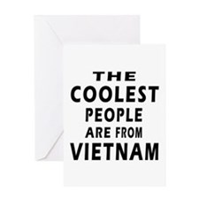 The Coolest Vietnam Design Greeting Card